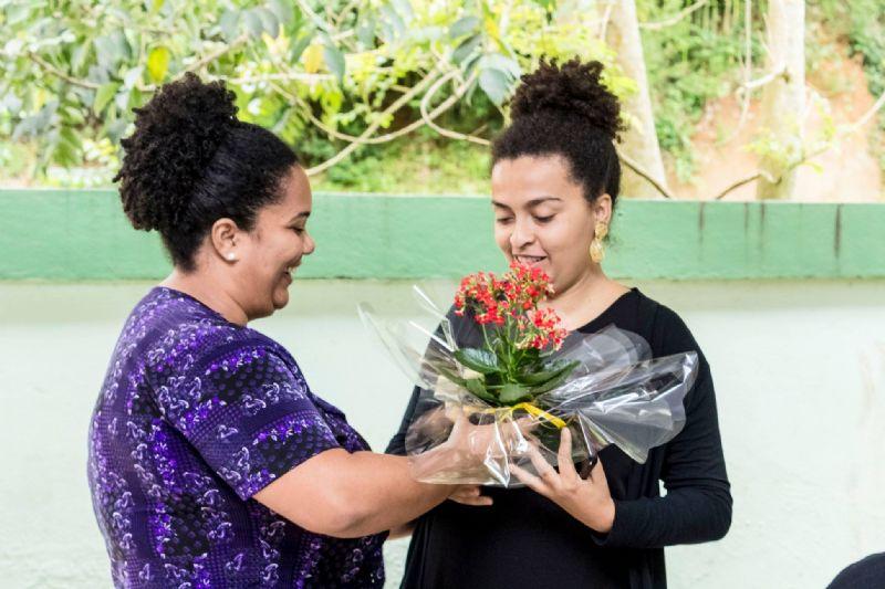 Inauguração da Sala de Leitura Graciliano Ramos (Escola Municipal Amelia Antunes Rabello)